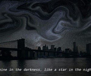 Darkness, sky, and stars image