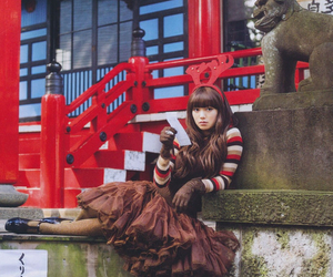 brown, lolita, and ふみ image
