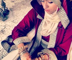 bride and morocco image