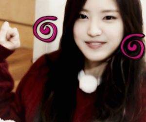 icons, a pink, and icons kpop image