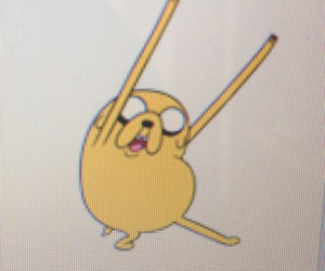 adventure time and jake the dog image
