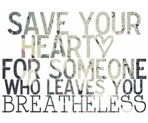 heart, save, and quote image