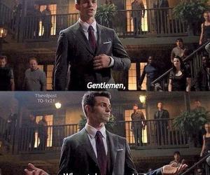 funny, gentleman, and Originals image
