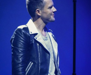 brandon flowers, leather jacket, and the killers image
