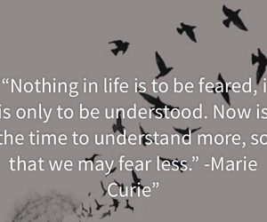 fearless, quote, and marie curie image