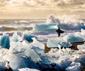 amazing, ice, and nature image