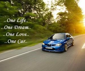 cars, subaru, and sun image