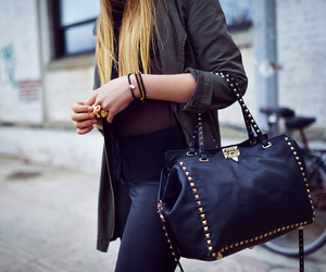 accessories, fashion, and jacket image