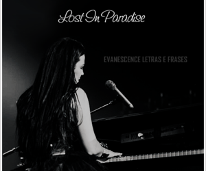 amy lee, evanescence, and lost in paradise image