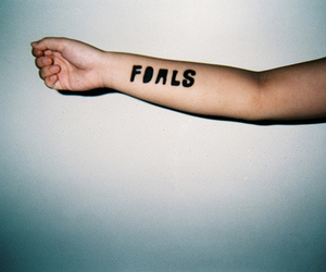 arm, music, and foals image