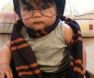 harry potter, cute, and baby image