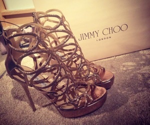 Jimmy Choo, shoes, and heels image