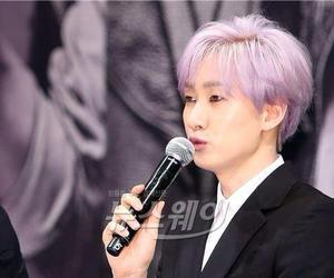 anchovy, press conference, and hyukjae image