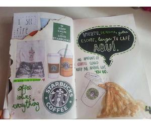 coffee, girl, and green image