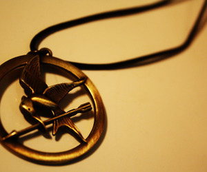 necklace, photography, and the hunger games image
