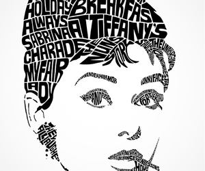 audrey hepburn, black, and Breakfast at Tiffany's image