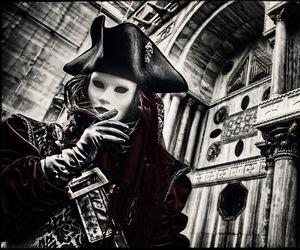 baroque, mask, and masquerade image