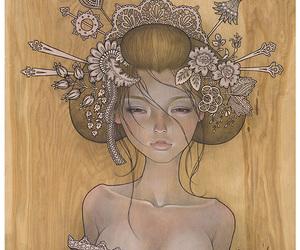 audrey kawasaki, art, and illustration image