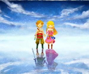 Legend of Zelda, link, and skyward sword image