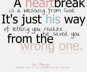 quote, god, and heartbreak image