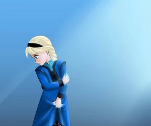 frozen, sad, and princess elsa image