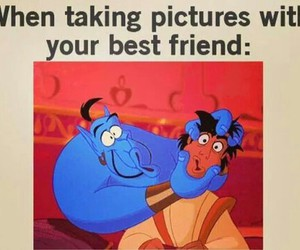 best friends, funny, and lol image