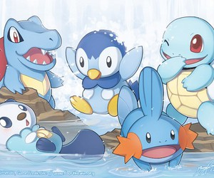 Piplup, pokemon, and squirtle image