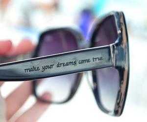 Dream, sunglasses, and glasses image