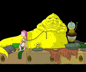 jabba, star wars, and adventure time image
