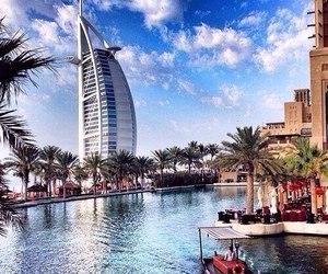 Dubai, travel, and luxury image