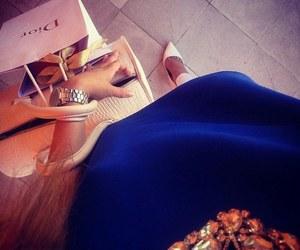 bag, heels, and white image