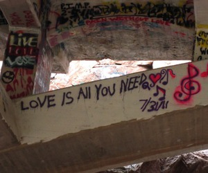 art, graffiti, and love is all you need image