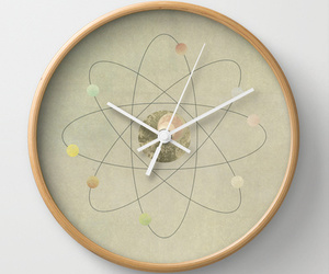 clock, colorful, and atom image