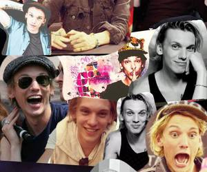 Jamie Campbell Bower, jace wayland, and Collage image
