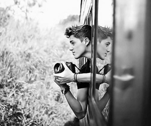 black and white, jack and finn harries, and jack harries image