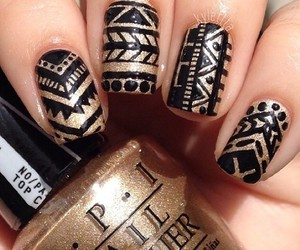 nails, fashion, and nailart image