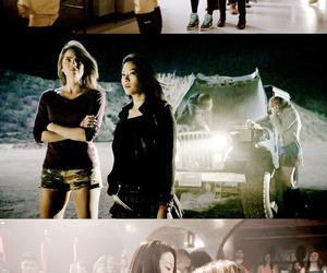 teen wolf, kira, and malia image