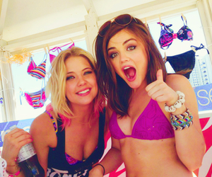 bikini, aria, and ashley benzo image