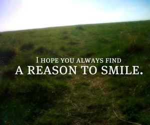 smile, hope, and quote image