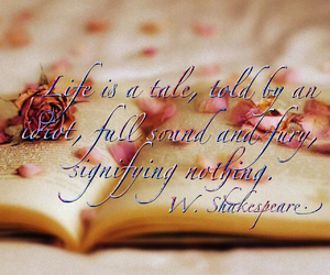 books, fairy tales, and flowers image