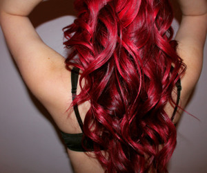red hair and babyliss image