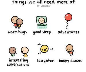hug, happy, and adventure image