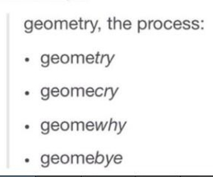 class, geometry, and me image