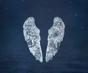 blue, coldplay, and ghost image
