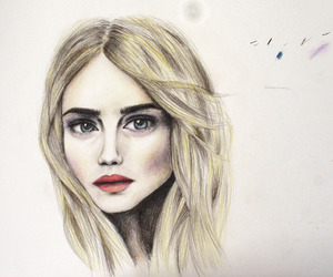 <3, celebrities, and drawings image