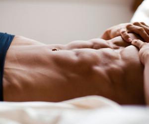 abs, men, and good-looking image