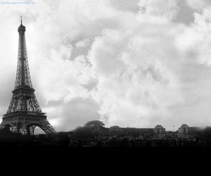 paris, white, and francia image