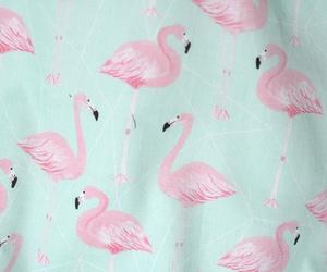 flamingo, pink, and pastel image