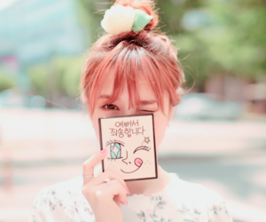 kawaii, pink, and ulzzang image