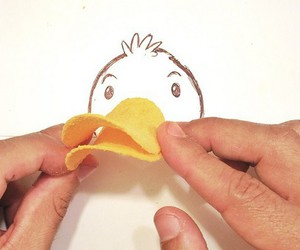 duck, drawing, and pringles image